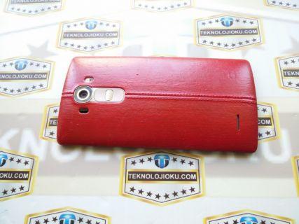 LG G4'ün arka kapağını ''kırmızı'' yaptık! [Video]