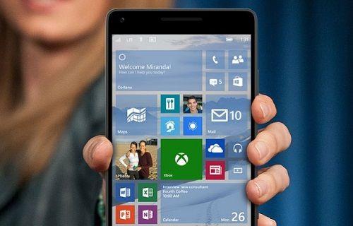 Windows 10 Mobile'a ait ekran görüntüleri yayınlandı