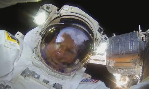 GoPro kamera ile çekilen 1 saatlik uzay yürüyüşü! Video