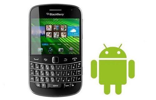 BlackBerry, Android işletim sistemli telefonlar üzerinde çalışıyor