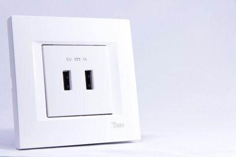 Şarjını Unutanlar için VİKO'dan Yeni Modüler USB Priz