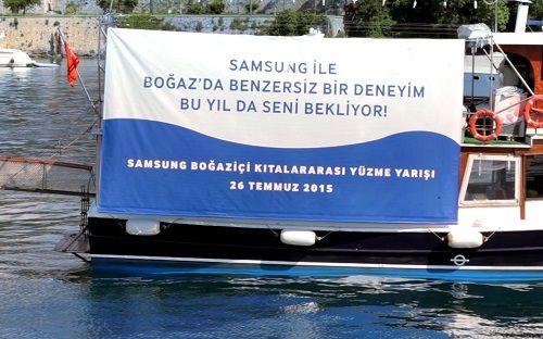 Samsung Boğaziçi Kıtalararası Yüzme Yarışı reklam filmi yayınlandı