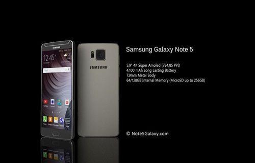 Galaxy Note 5'in lansman tarihi değişti