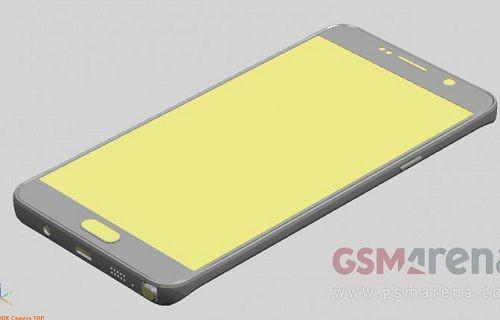 Taslak çizimler Galaxy Note 5 ve Galaxy S6 Edge Plus'ın boyutlarını ortaya çıkardı