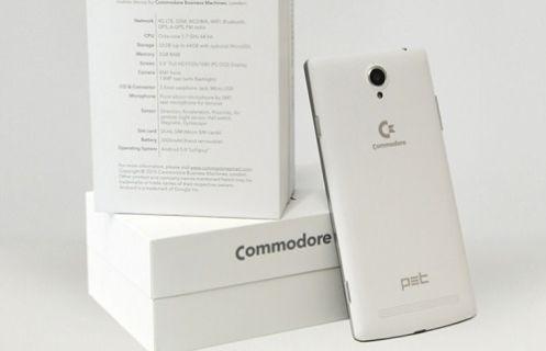 Commodore yeni bir telefonla dönüş yapıyor!