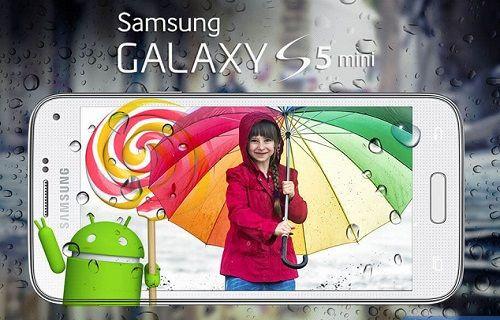 Galaxy S5 mini için Lollipop güncellemesi yakında yayınlanacak