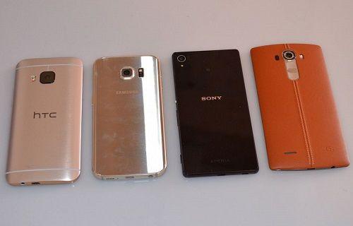 Kamera ve boyut karşılaştırması: LG G4-HTC One M9-Galaxy S6 Edge-Xperia Z3+