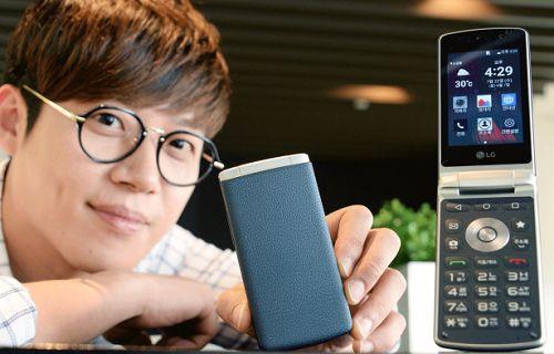 LG'den kapaklı Android akıllı telefon: LG Gentle