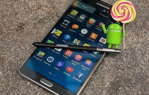 Galaxy Note 3 için merakla beklenen Lollipop güncellemesi nihayet Türkiye'de!