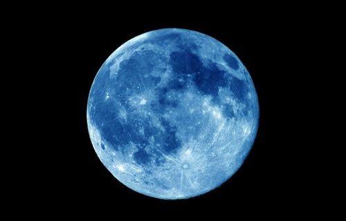 Unutmayın! Ay bu gece mavi görünecek