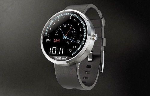 Samsung'un yuvarlak ekranlı akıllı saati Gear A resmen doğrulandı