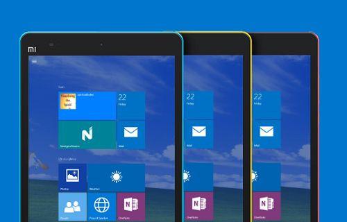 Xiaomi çok yakında Windows 10 ile çalışan bir tablet duyurabilir