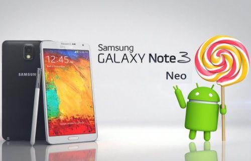 Samsung Galaxy Note 3 Neo için Android Lollipop yakında geliyor!