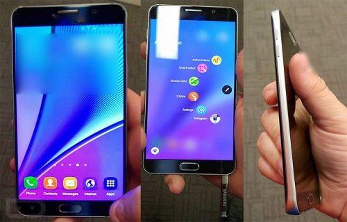 İşte en net görüntüsüyle Galaxy Note 5