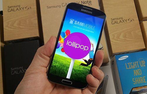 Galaxy S4'e Android 5.0 Lollipop güncellemesi nasıl yüklenir?