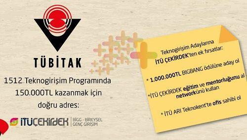 İTÜ Çekirdek'ten teknogirişimcilere çağrı
