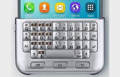 Galaxy S6 Edge+ ile uyumlu harici klavyenin fiyatı belli oldu