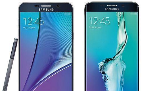 Galaxy Note 5 ve Galaxy S6 Edge+ kameralara yakalandı