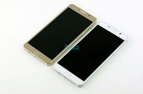 İşte altın ve beyaz renkleri ile Samsung Galaxy Note 5!