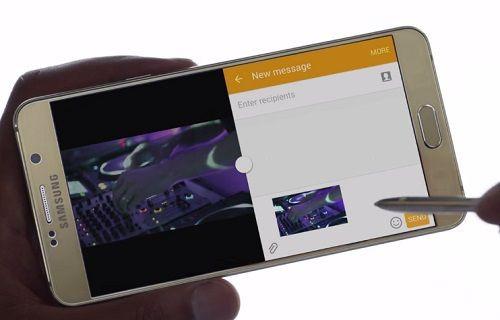 Galaxy Note 5'in ilk televizyon reklamı yayınlandı