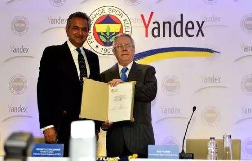 Fenerbahçe arama motoru olarak Yandex'i seçti!