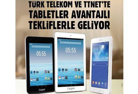 Türk Telekom'dan ''keyfi peşin, ödemesi taksitli'' tablet kampanyası