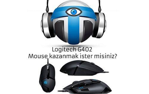 teknolojioku.com'dan Logitech G402 mouse kazanmak ister misiniz?