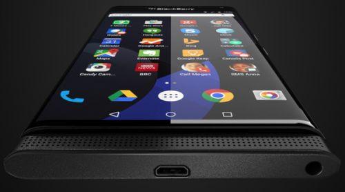 Androidli BlackBerry Slider'a yakından bakın