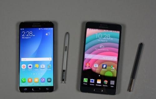 Galaxy Note 5 ve Galaxy Note 4 video karşılaştırması!