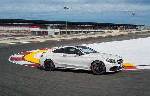 Mercedes AMG C 63 S Coupe'nin Spin atma videosu yayınlandı! (Video)