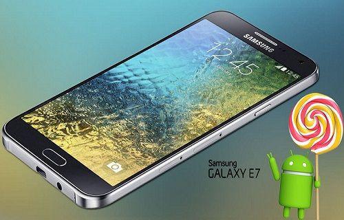 Samsung Galaxy E7 kullanıcılarına Lollipop şoku!