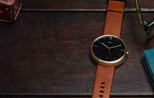 Yeni nesil Moto 360 akıllı saat görüntülendi