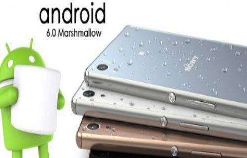 Sony'nin Android 6.0 Marshmallow yol haritası sızdırıldı!