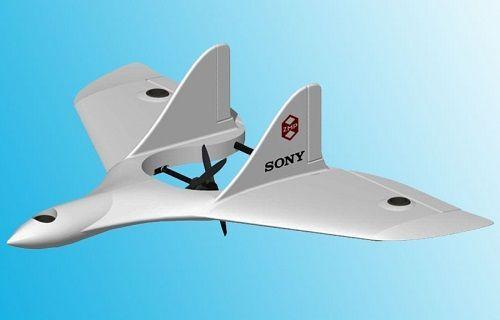 İşte Sony'nin insansız hava aracı (Video)