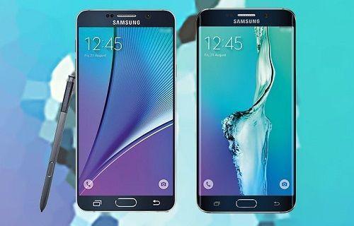 Samsung Galaxy S6 Edge+ ve Galaxy Note 5 ülkemizde tanıtıldı