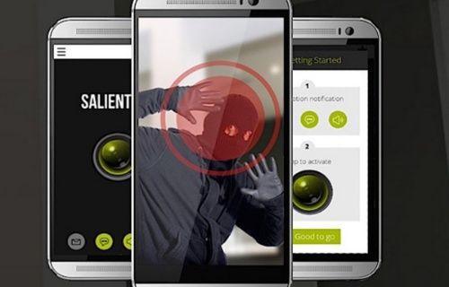 Android cihazınız bir ev güvenlik alarm sistemi olmaktan 3 tık uzaklıkta!