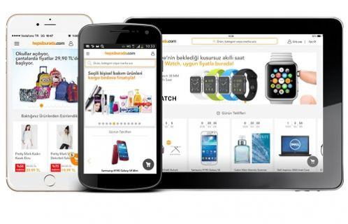 Hepsiburada.com'da Mobil Alışveriş Yükselişte