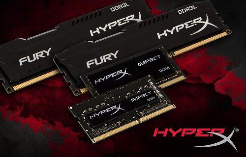 HyperX yeni nesil DDR3L ve DDR4 RAM'lerini tanıttı!
