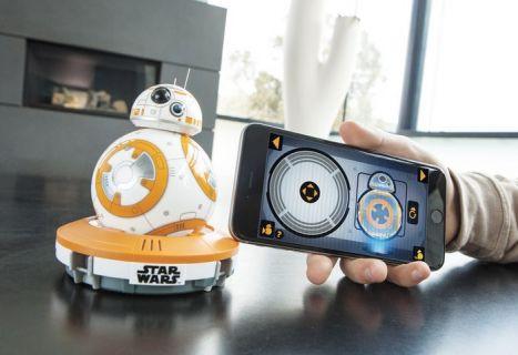 En sevimli ev robotu Star Wars BB-8 Droid