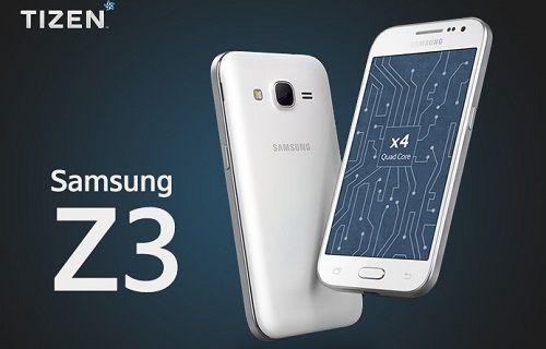 Tizen ile çalışan Samsung Z3 kameralara yakalandı