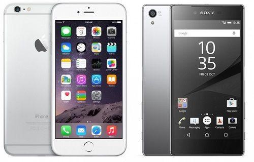 Xperia Z5 Premium ve iPhone 6 Plus: İlk bakış