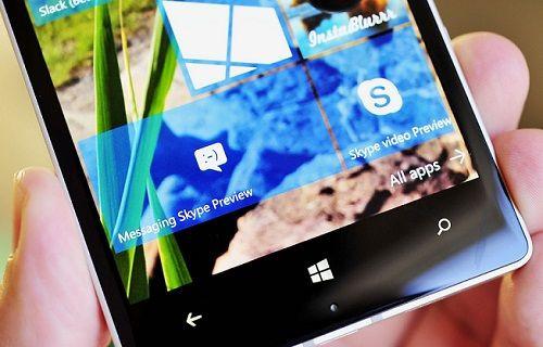 Windows 10 Mobile'ın varsayılan mesajlaşma uygulaması Skype Beta  yayınlandı