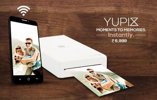 Android ve iOS uyumlu taşınabilir fotoğraf yazıcısı: YuPix