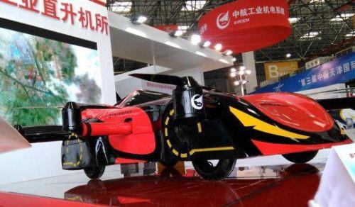 Çinliler uçan araba yaptı (Video)