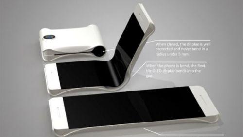 Samsung'un katlanabilir akıllı telefonu böyle olacak!