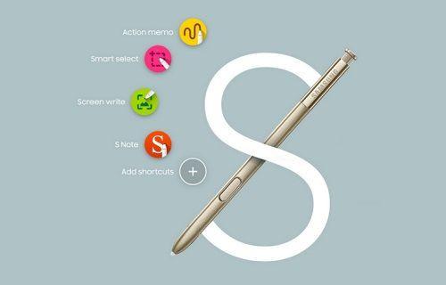 Samsung, Galaxy Note 5'te S-Pen kullanımına yönelik üç video yayınladı