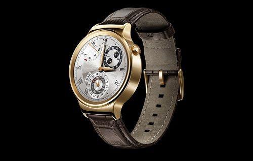Huawei Watch akıllı saat Avrupa'da ön sipariş almaya başladı