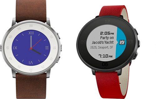 Pebble da yuvarlak akıllı saat modasına uydu