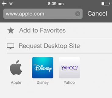 iOS 9'da Masaüstü Site Nasıl Açılır?