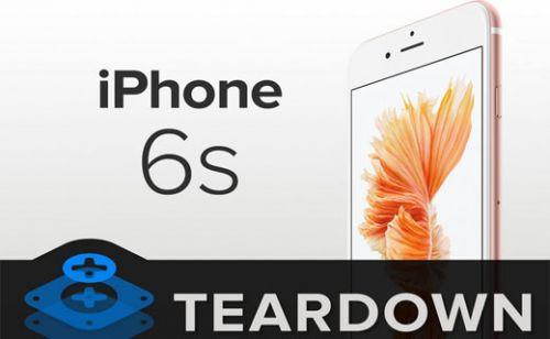 iPhone 6S paramparça